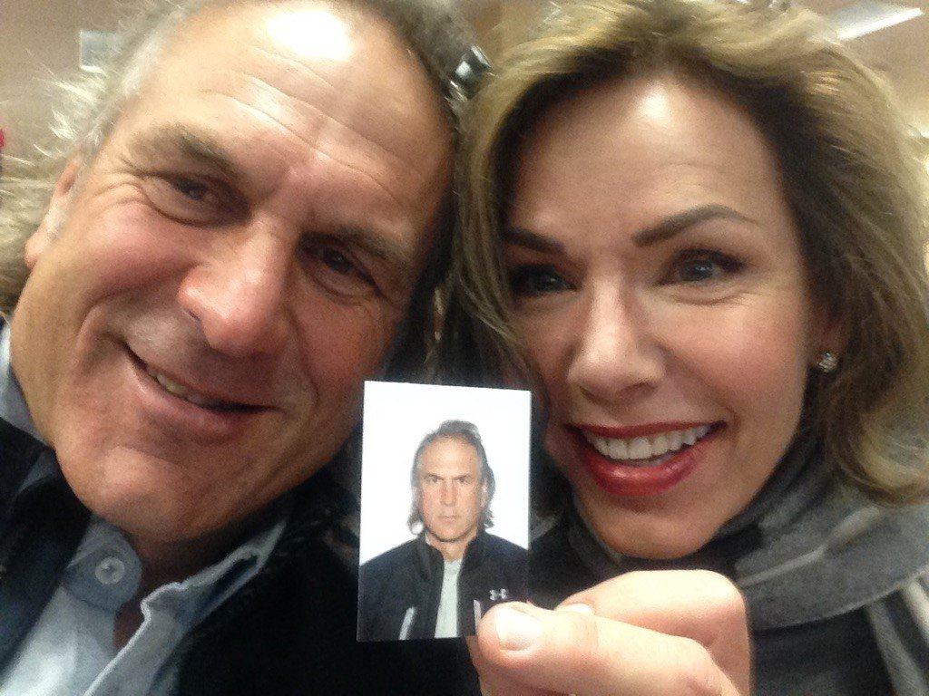 Jim Shockey On Twitter New Passport Photo Louise Says My Hair Is Ugly And That I Look Like A Rooster Https T Co 3axgrapgrc