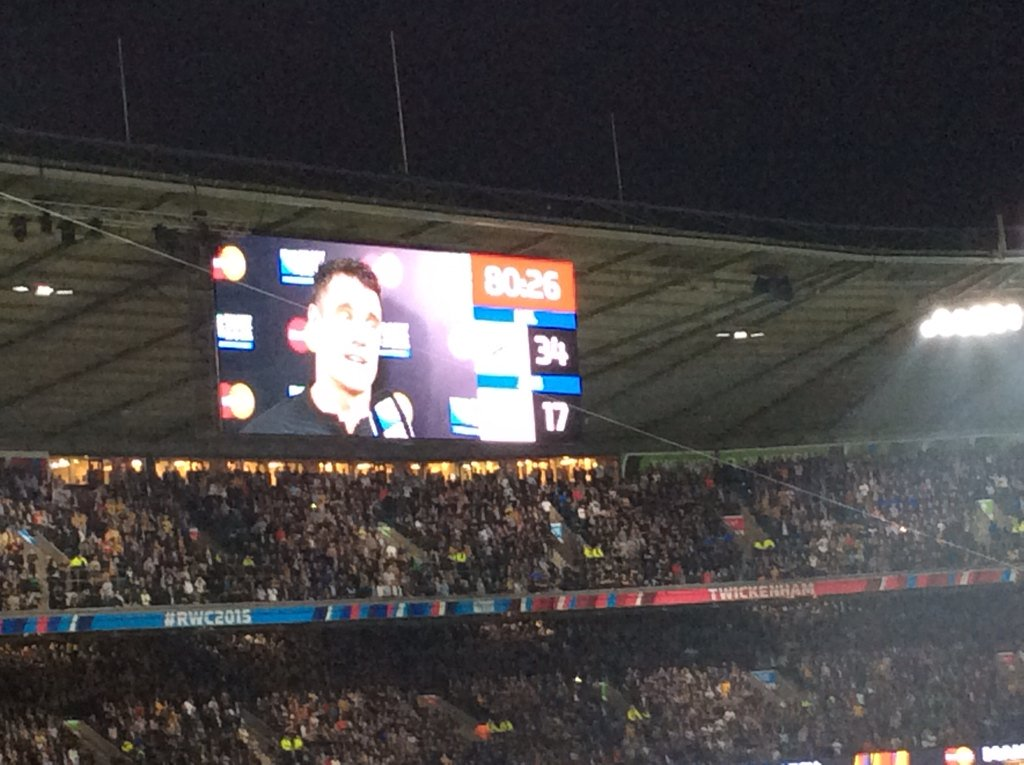 Take a bow @DanCarter u sir are a legend! #RWC2015final https://t.co/POP06eDVvp