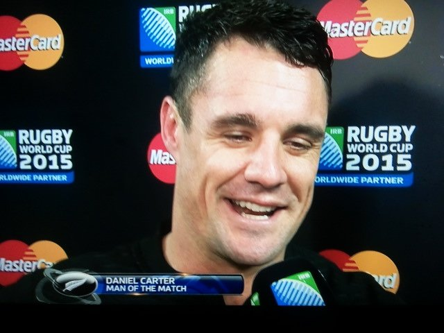Love you, @DanCarter. You did it, Bro. All the doubters, but you stood strong. We will never forget. #RWCFinal https://t.co/sl1uyMacNY