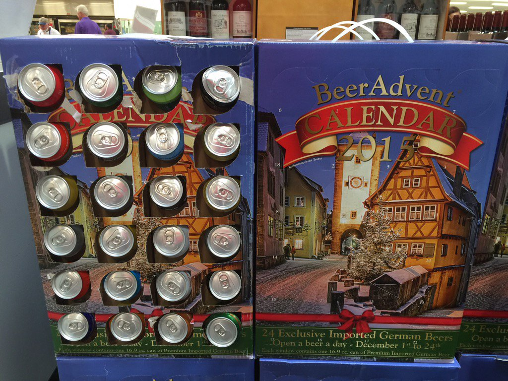 Jim st leger on twitter forget the 12 days of christmas for Craft beer advent calendar 2017
