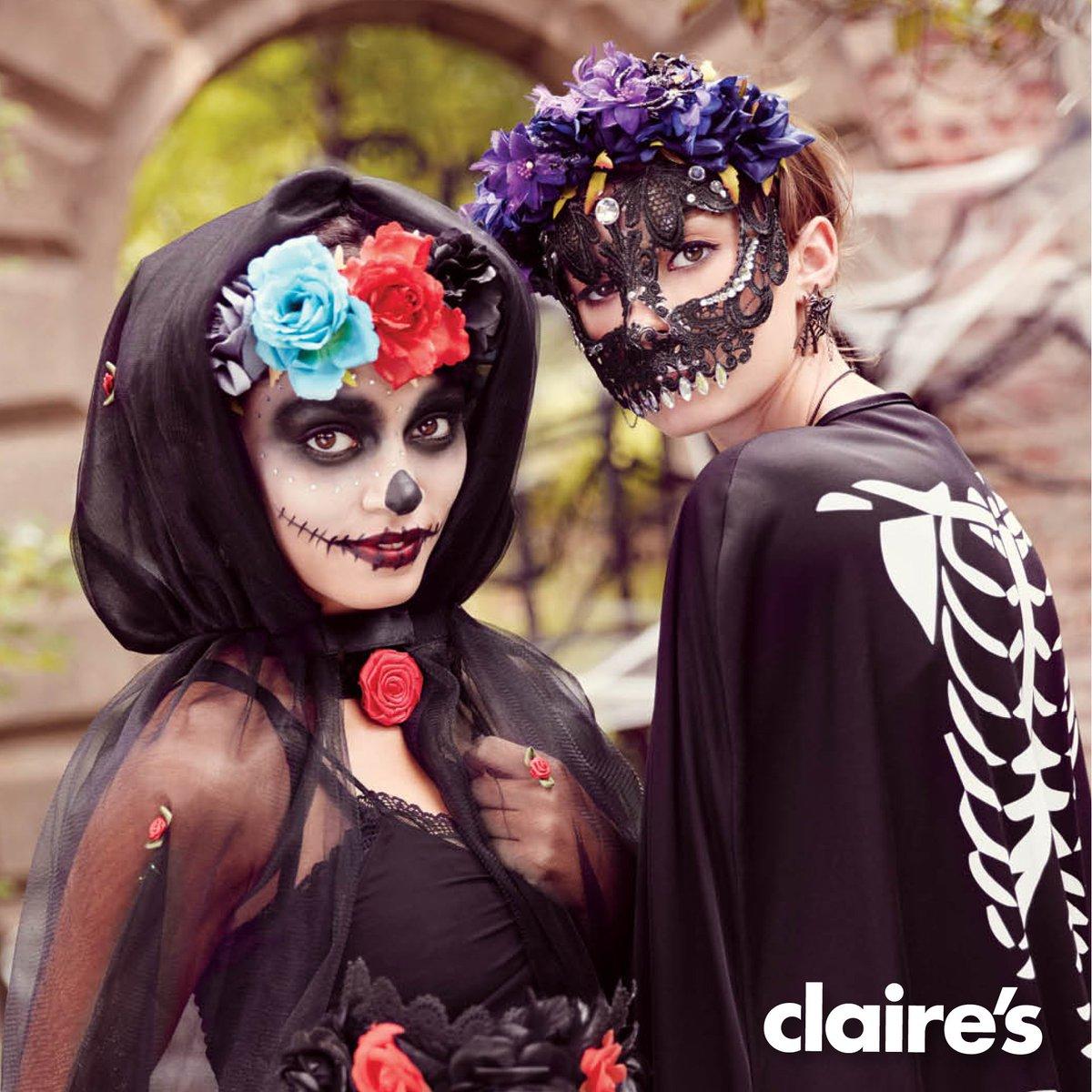 ¡Diviértete este Halloween y disfrázate con lindos accesorios de #Claires! ;) https://t.co/oJeKaPQinX