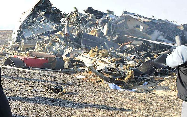 Фото экипажа разбившегося самолета в синае