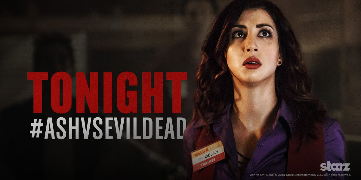 TONIGHT'S THE NIGHT!! Get the popcorn. Get the booze. Get the security blanket. @AshvsEvilDead is coming! #STARZ https://t.co/RpPJzgrHKO