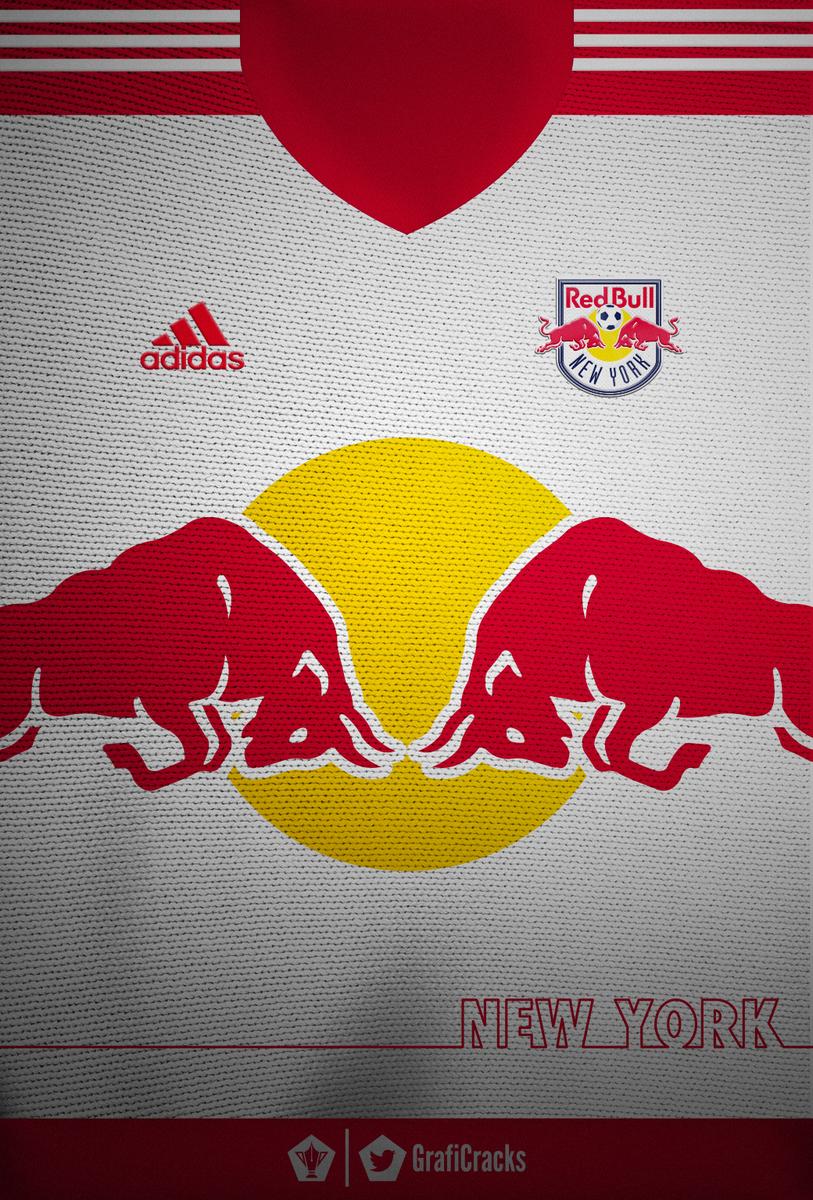 Graficrack On Twitter New York Red Bull Jersey