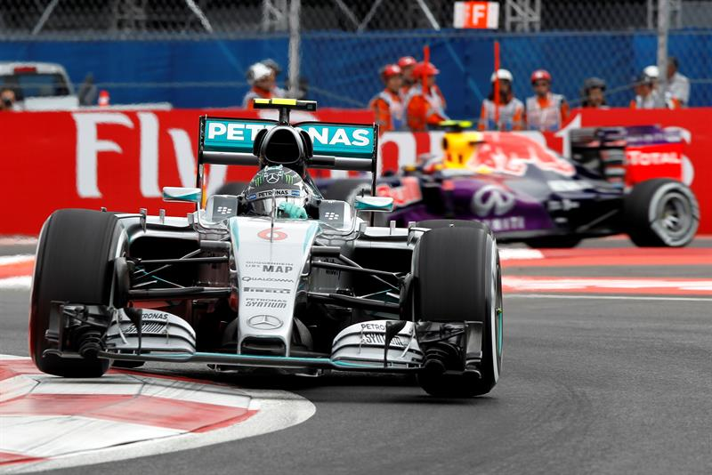 F1 | Gran Premio de México Cuarta pole consecutiva para Rosberg