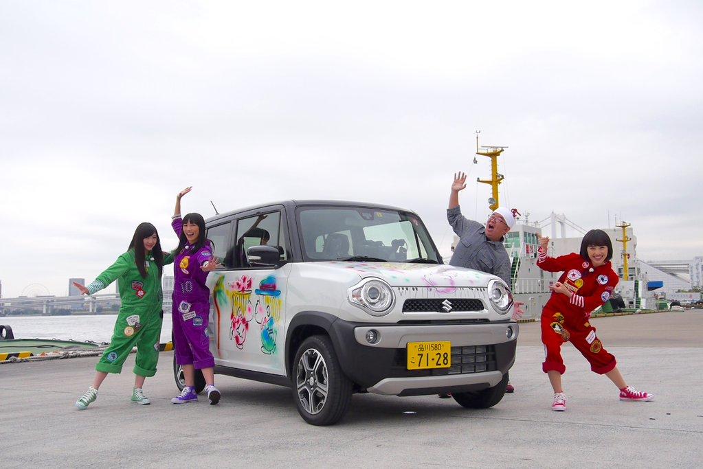 ☆11/7(土)BS朝日『極上空間』に #ももクロ が初登場。川上アキラMgとメンバー3人が #東京モーターショー へ向けドライブ(^^)お楽しみに #momoclo https://t.co/HV8ak3rmGb