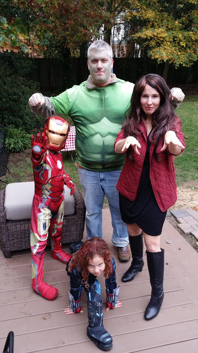 Hey @Marvel, check out The Avengers. #MarvelHalloween https://t.co/Wch0PxSWVP