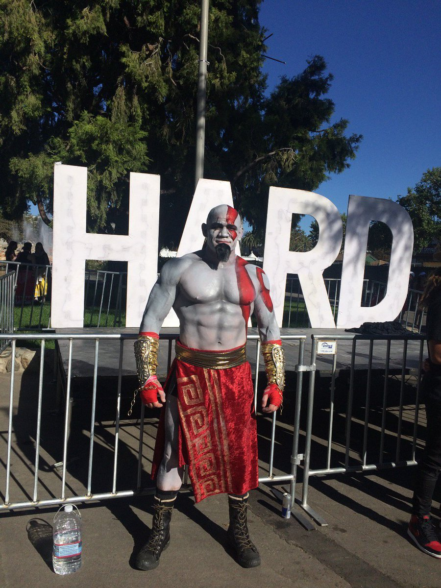 Kratos @hardfest! https://t.co/7IOg0Ox1ji