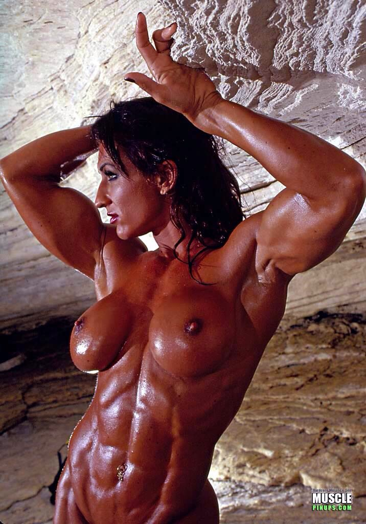 Female muscular nude