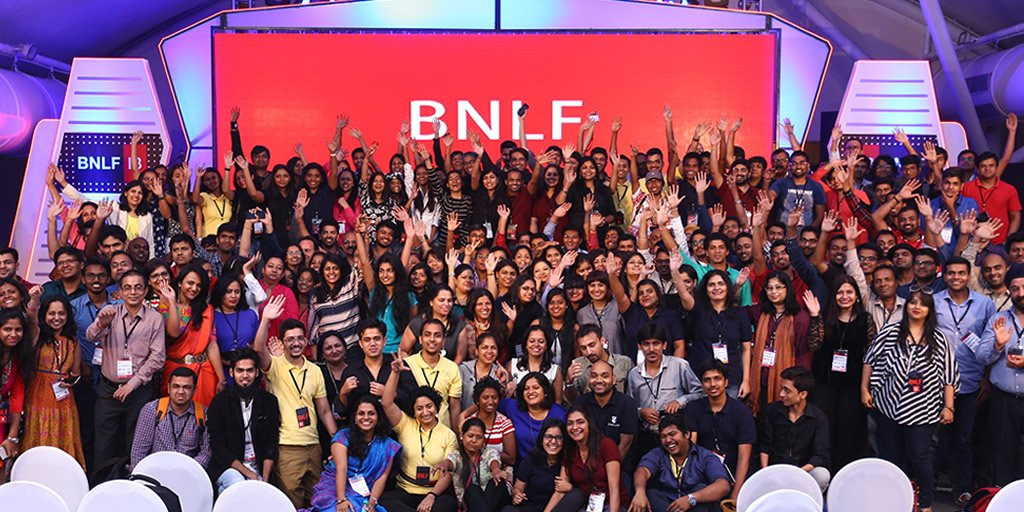 Thank you for spending your entire weekend at #BNLF. We've been IndiBlogger. You've been awesome. Good Night! https://t.co/zDtcwEhwqb