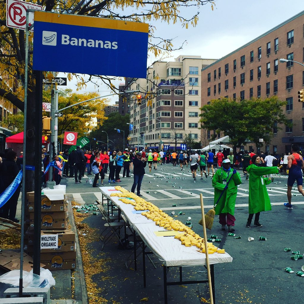 The New York City Marathon is BANANAS!!! These runners rock!  #tcsnycmarathon https://t.co/RPQtWN1rOj