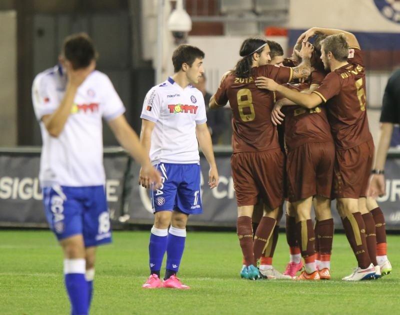Zuta, Ristovski and Rijeka got a big win; photo: Vecernji