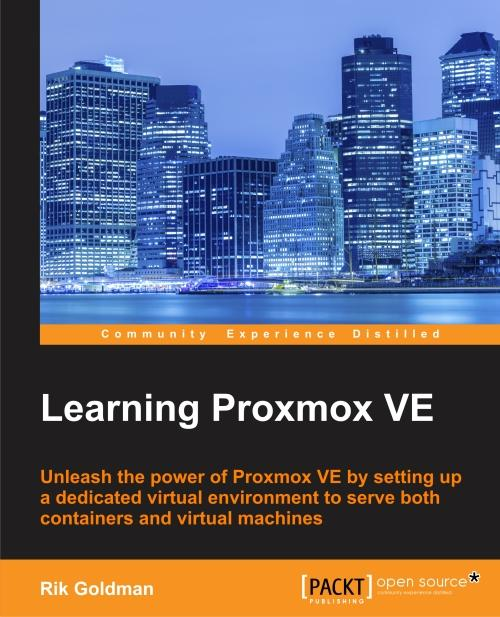 Learning Proxmox VE Book Cover