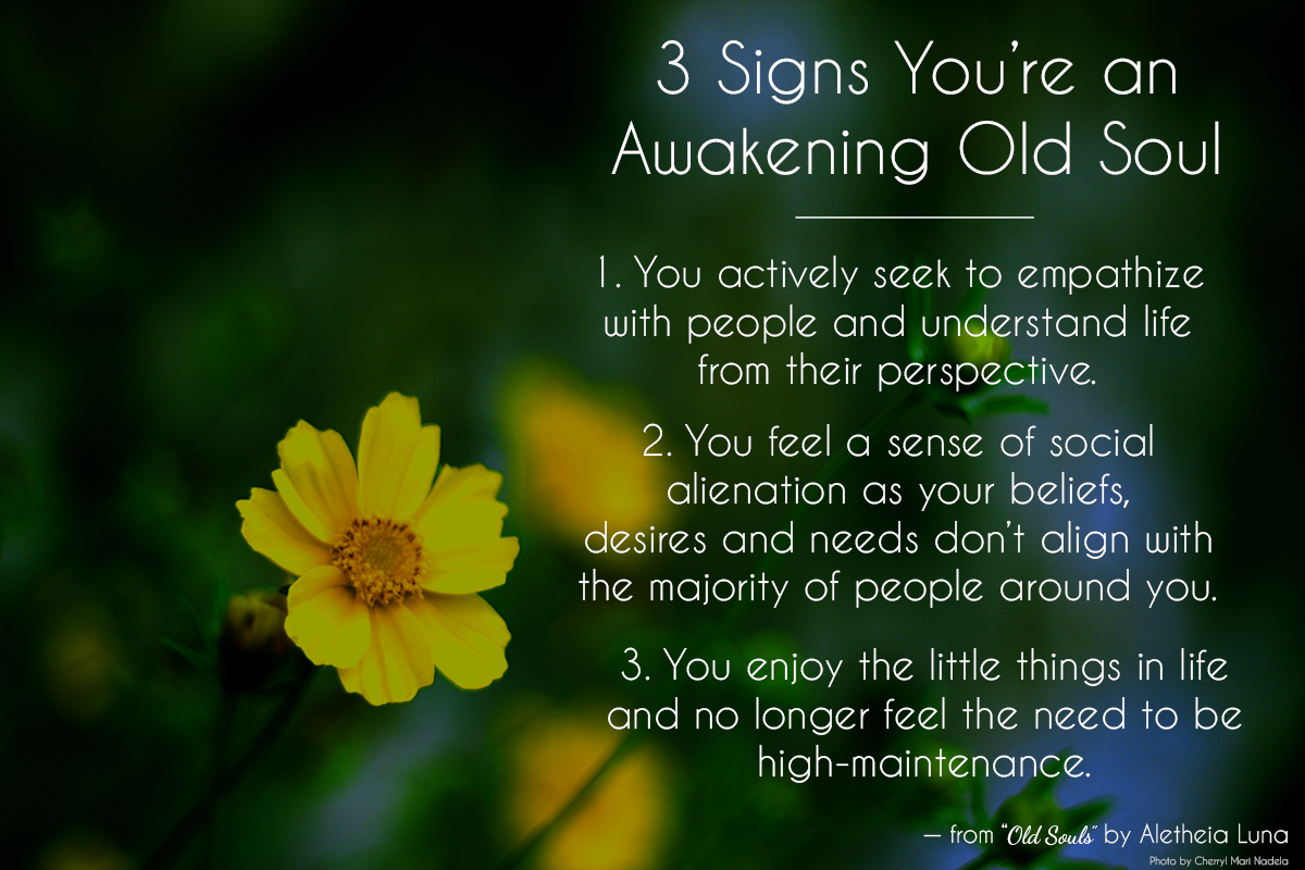 "LonerWolf On Twitter: ""3 Signs Of The Awakening Old Soul"