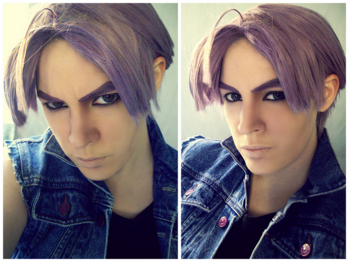 Makeup Test For Future Trunks
