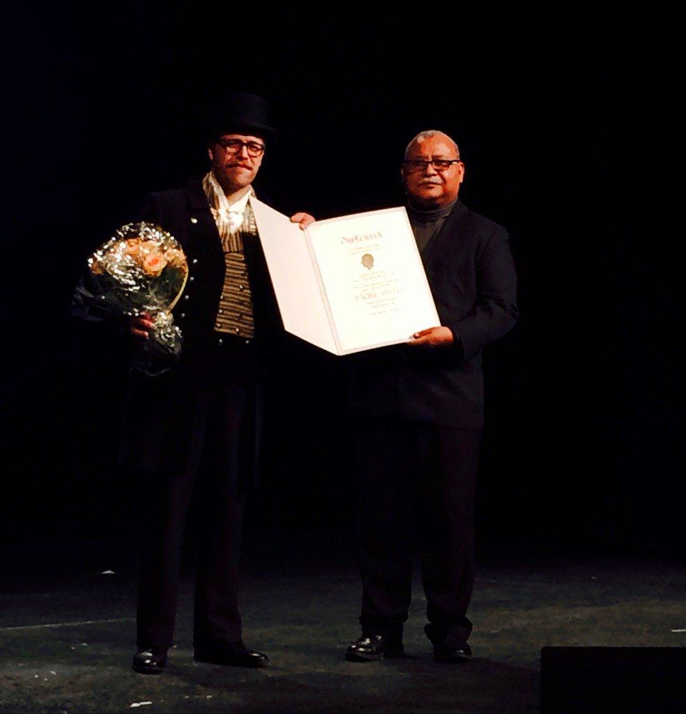 Congratulations to Padre Melo with the 2015 Rafto Prize! #rafto15 #PremioRafto2015 @RadioProgresoHN https://t.co/I6OO3Z1PNL