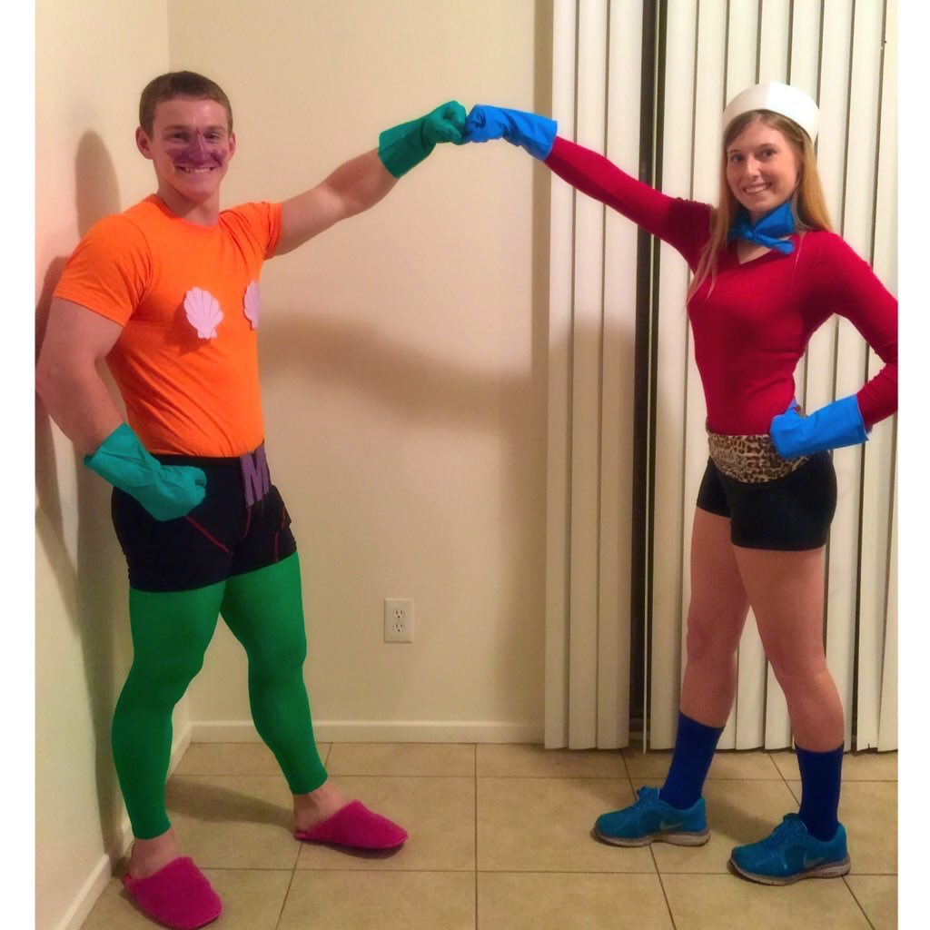 CSvwaAxU8AAOvAU.jpg  sc 1 st  Twitter : mermaid and barnacle boy costumes  - Germanpascual.Com