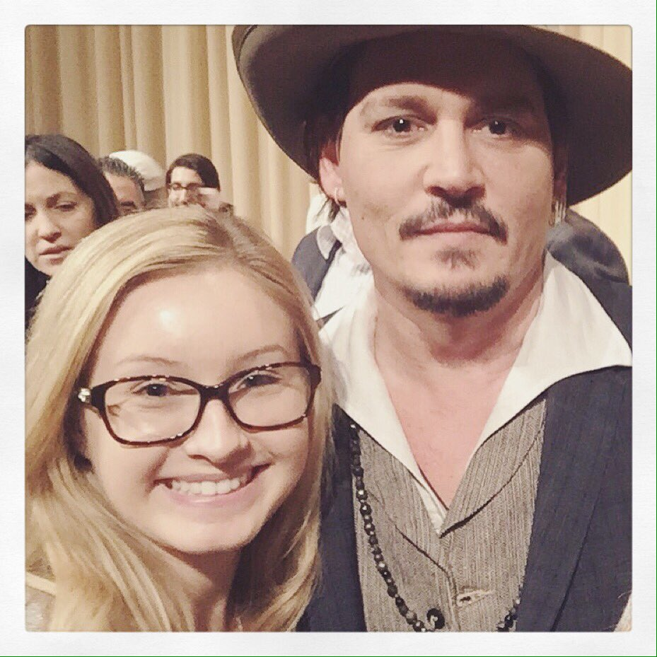 Had an amazing afternoon with #JohnnyDepp https://t.co/YQ48H0R1hH