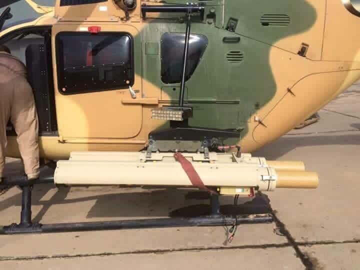 العراق اشترى صواريخ Ingwe المضاده للدروع لاستعالها على مروحيات EC635 CSwyYlSWwAIG7Lv
