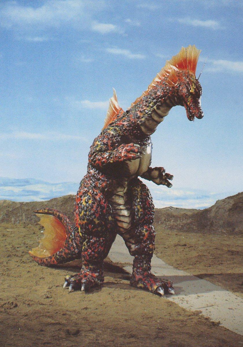 《機械哥吉拉的逆襲》電影中現身的全新怪獸:棲息海中的恐龍「泰坦龍」。