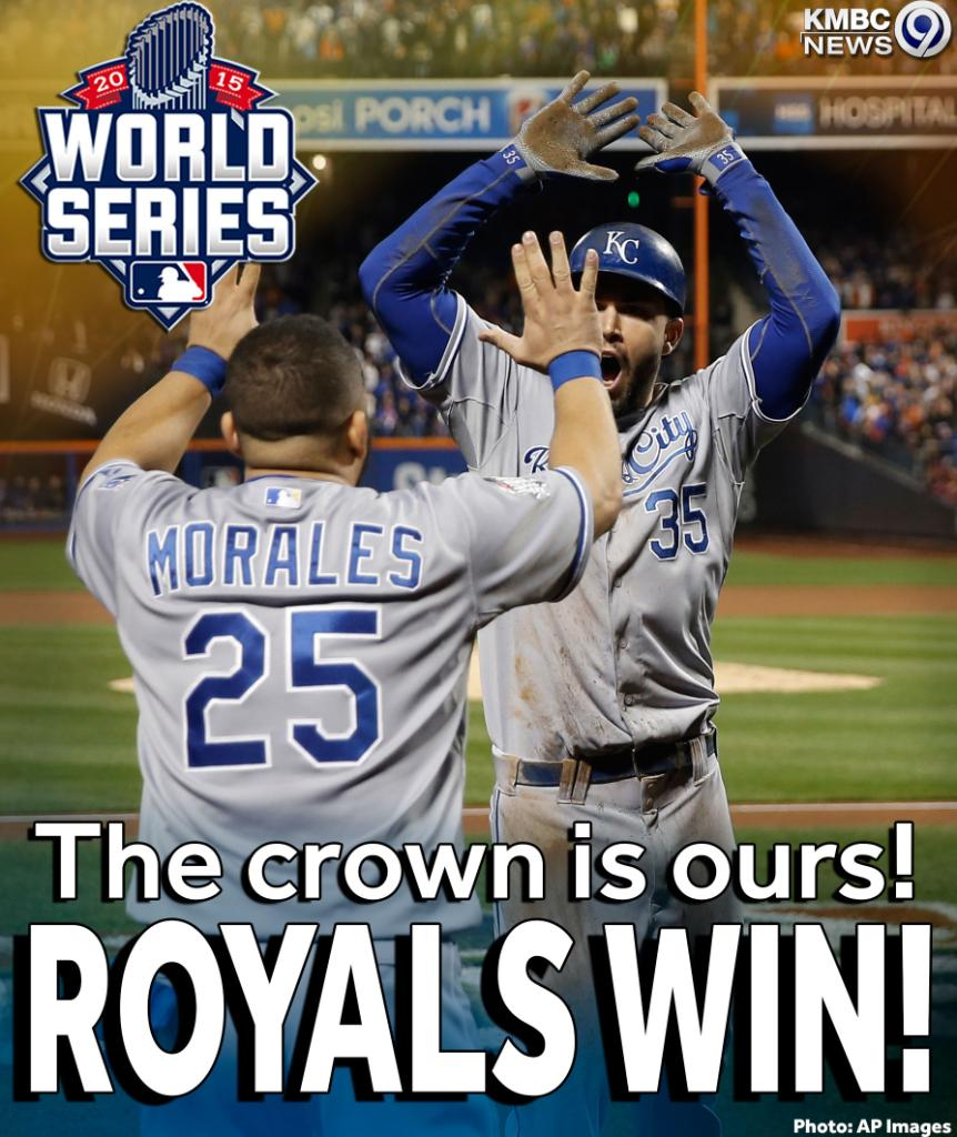 30 years in the making...ROYALS WIN THE WORLD SERIES! The crown is ours! https://t.co/HGuTbZgfn3