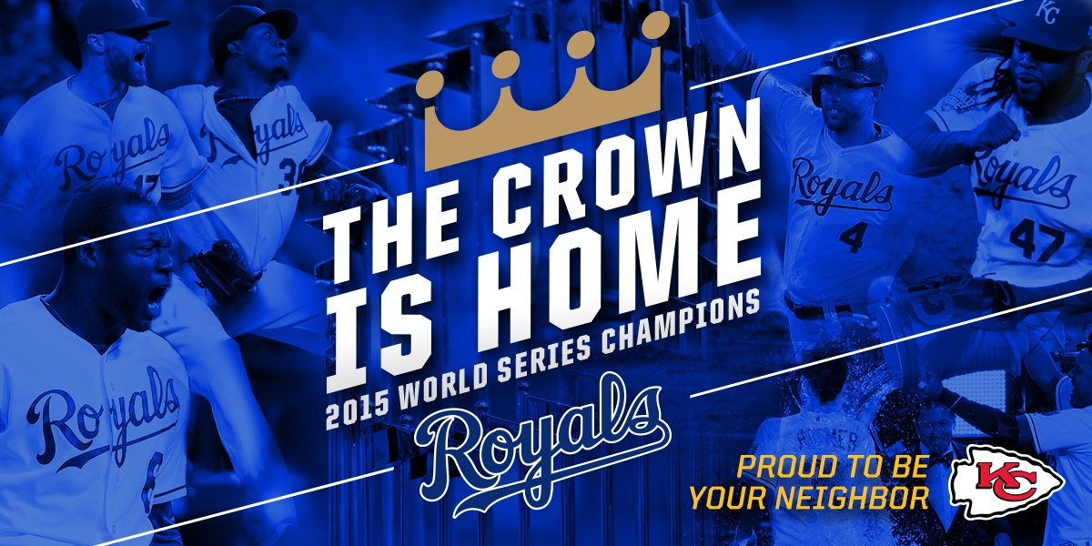 Congratulations, @Royals! https://t.co/75BZV8H0Ke