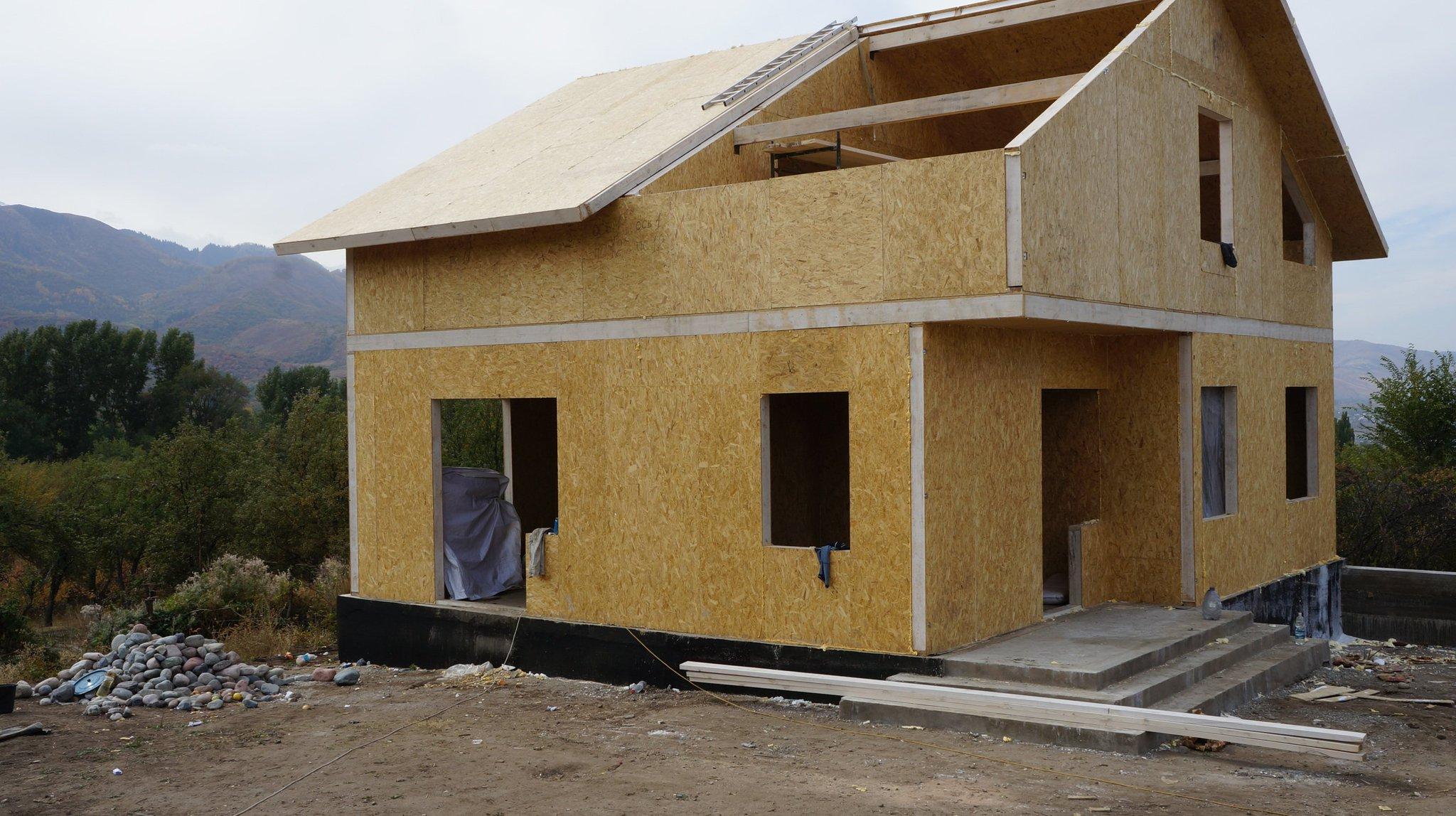 один дома из сип панелей картинки по канадской технологии предыдущие