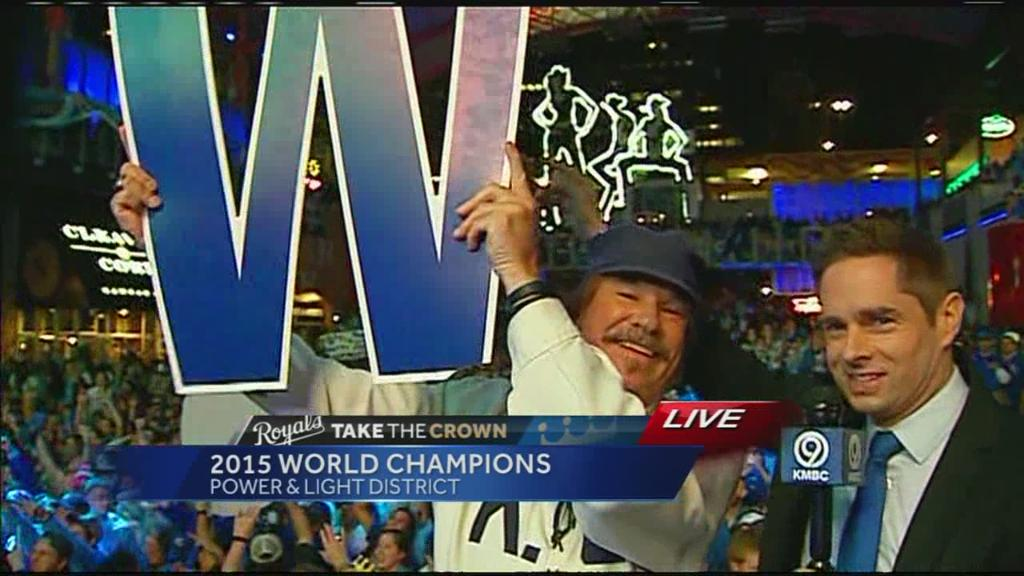 The biggest W of the year! (It stands for World Series Champions)