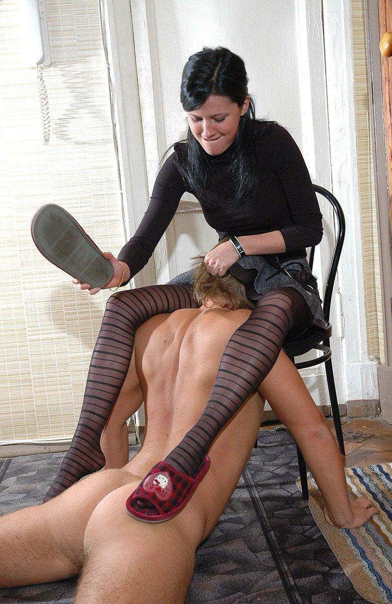 Slipper spanking Reddening ends