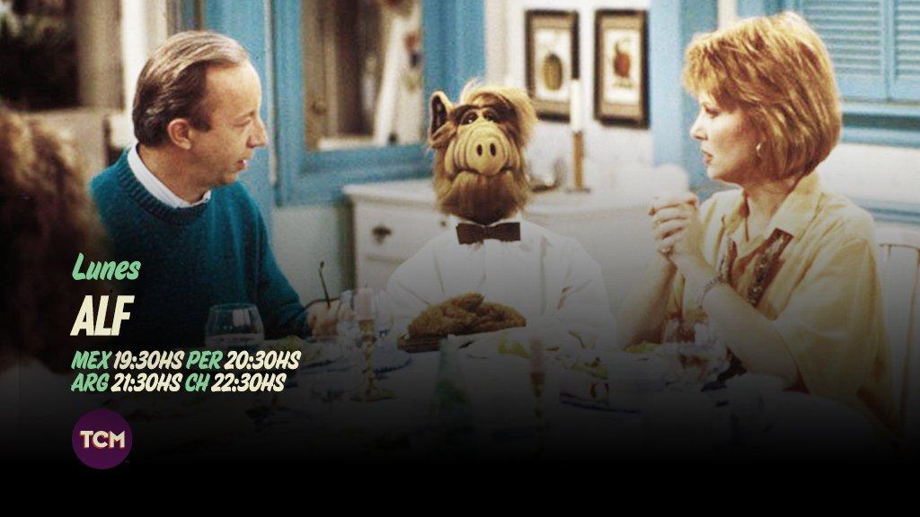 ¡Hoy es el gran día! Alf volvió, y en forma de serie original. #ALFenTCM https://t.co/GP0joUvF79