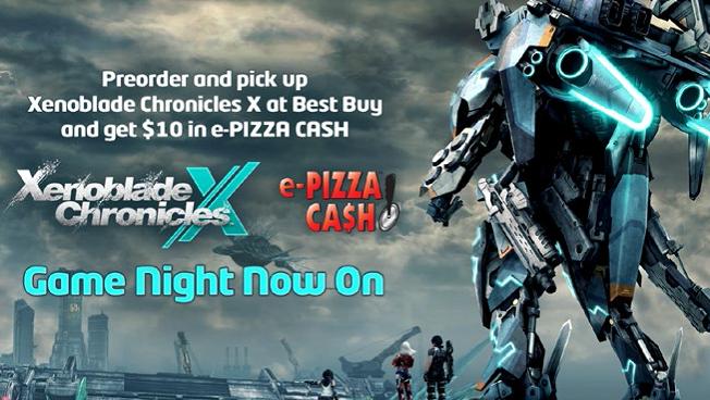 Pre-order #XenobladeChroniclesX at @BestBuy, get $10 in ePizza Cash: https://t.co/PEkMtBg9Rd @NintendoAmerica https://t.co/fNg1BQwWRG