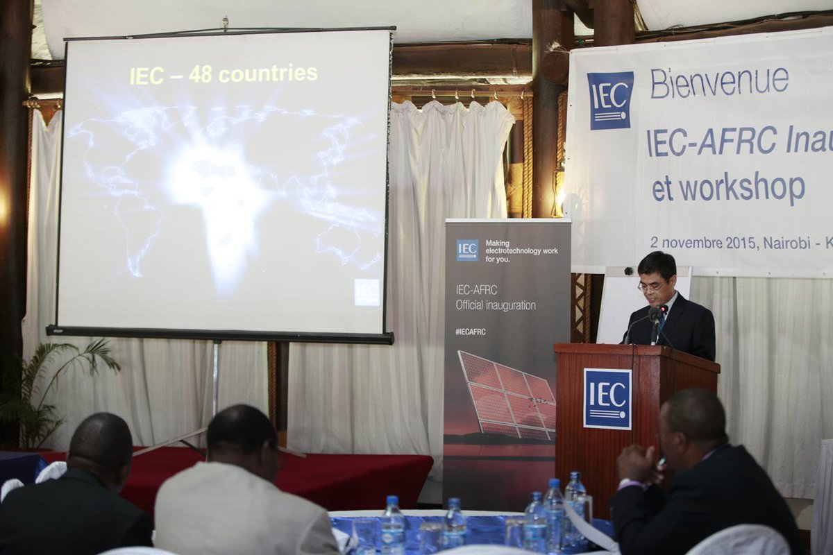 Thumbnail for IEC Africa Regional Centre Opening