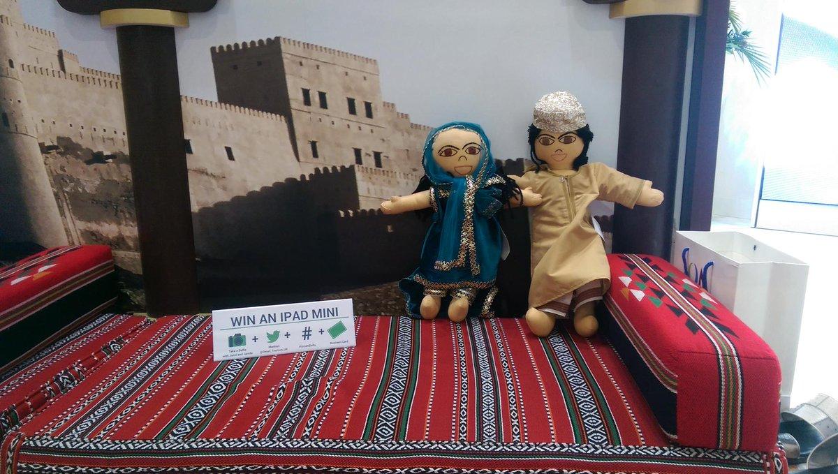 WIN an Ipad mini @WTM_London w/ @Oman_Tourism_UK - STAND M500 #OmaniDolls #WTM15 https://t.co/hbzw96lc6o