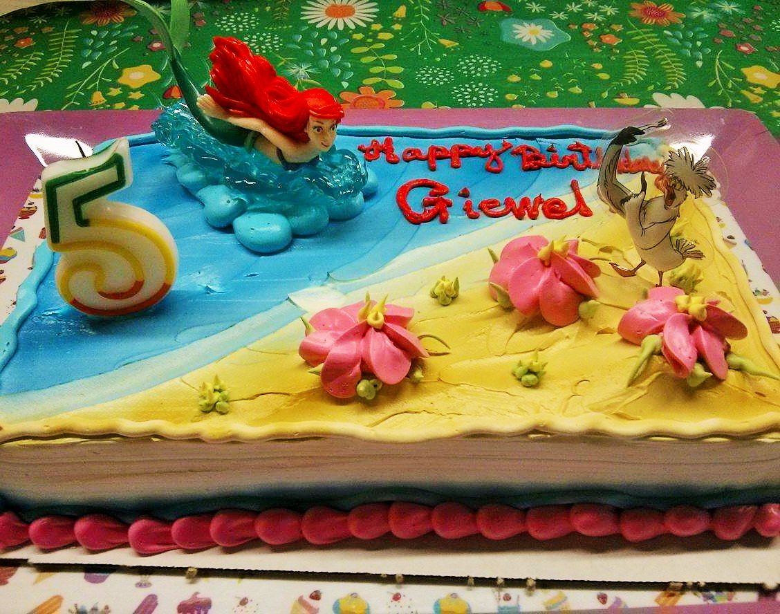 Fantastic Fairytale Land On Twitter Under The Sea A Little Mermaid Cake Funny Birthday Cards Online Drosicarndamsfinfo