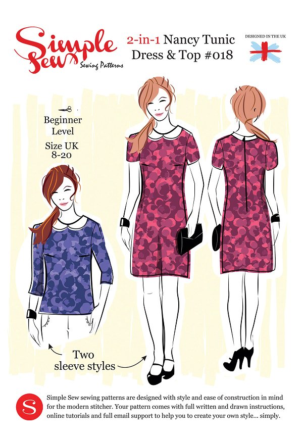 Love Sewing On Twitter Simple Sew Nancy Tunic Top And Dress