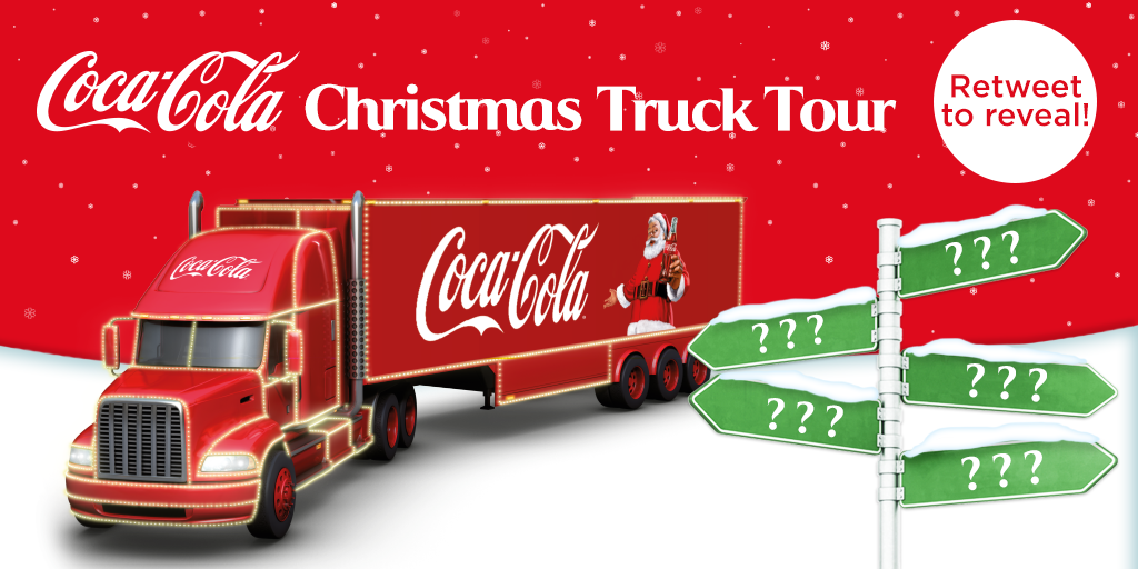 Are we coming to your town? RT to find out! When we hit 500 RTs we\'ll reveal all 46 stops... #holidaysarecoming