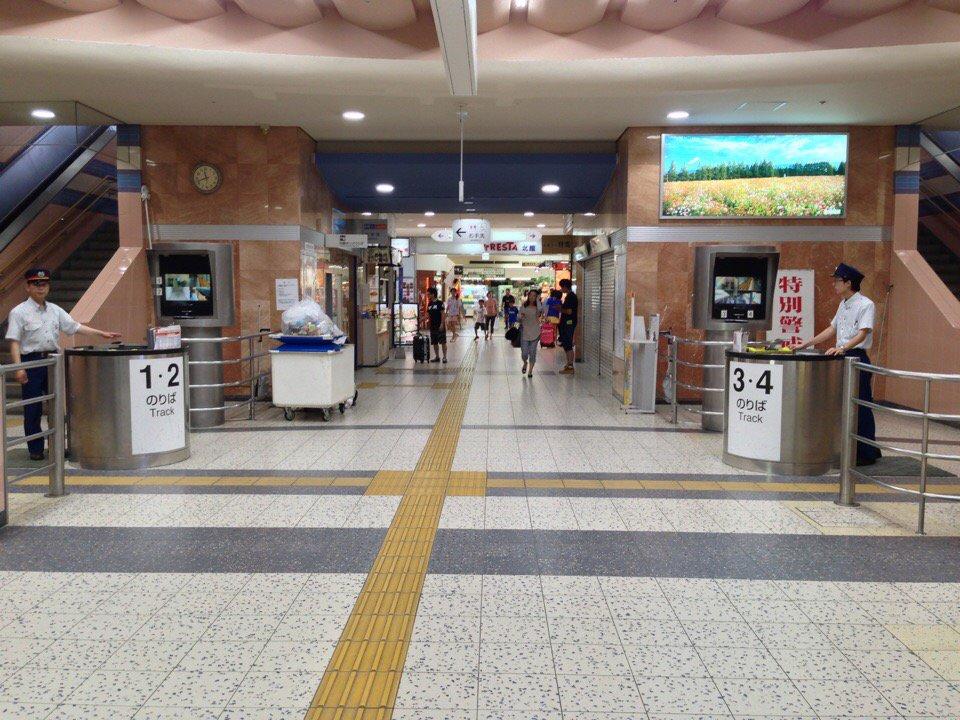宮崎駅の改札口は未だにこれだから https://t.co/9tBUf502PF