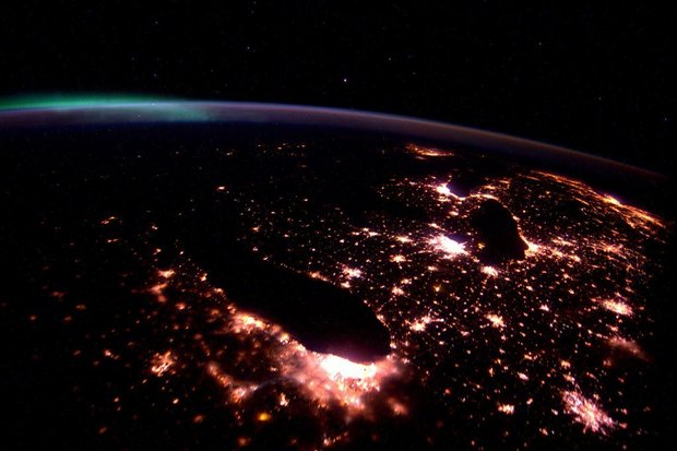 Astronaut tweets beautiful photo of Michigan from space https://t.co/FhJMFFySo2 https://t.co/pwQw0CstsW
