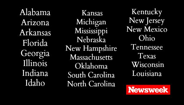 [UPDATED] Here's the full list of states refusing to take in #SyrianRefugees https://t.co/c4IJGuWTpr https://t.co/5MiptBjtxR