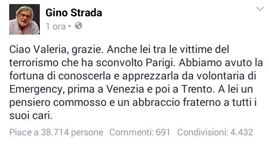 Top story: @Virus1979C: 'Gino Strada ricorda #ValeriaSolesin, volontaria di Eme… https://t.co/IDeCfnAkya, see more https://t.co/jCjpPsnl8p