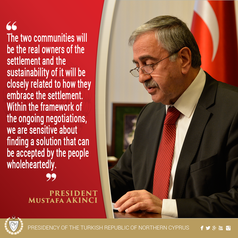 From President Mustafa AKINCI`s speech at the ceremony of the TRNC`s 32nd establishment anniversary. https://t.co/u572AN8YpM