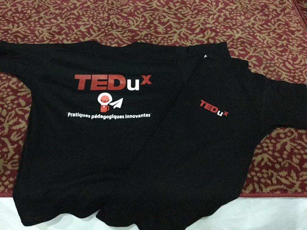Le t-shirt officiel collector du #TEDux de @IFIC_AUF https://t.co/gpZRkTpN8r