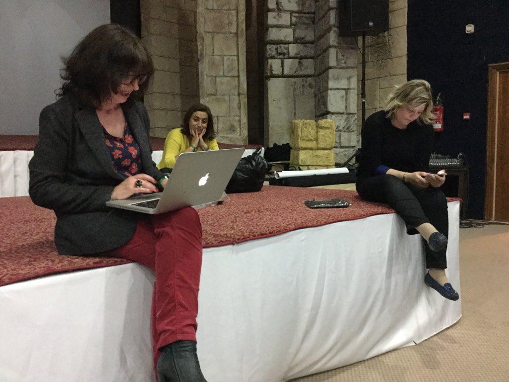 Le #TEDuX de @IFIC_AUF se prépare avec @nathissen @mona2008 @LiliaCheniti https://t.co/ru4LQ1lB0h