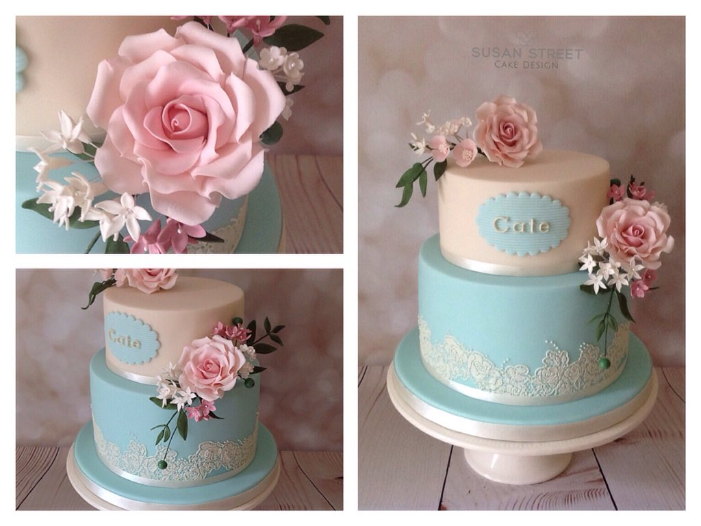 Stupendous Susan Street On Twitter Ivory Tiffany Blue Birthday Cake With Funny Birthday Cards Online Alyptdamsfinfo