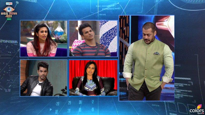 Bigg Boss 9: Gautam Gulati and Kamya Punjabi Grill The Housemates!
