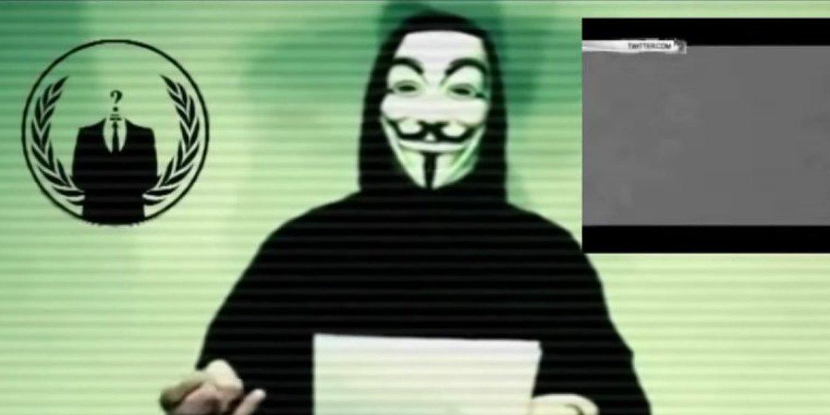 VIDÉO - #Anonymous menace le groupe armé État islamique après les attentats de #Paris (SRC) https://t.co/jEVZiRRgIe