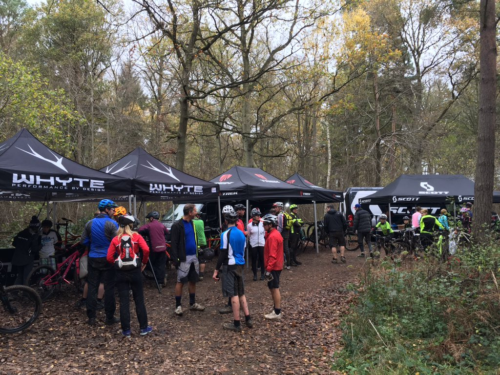 Fab day at our MTB demo day today. We had some excellent feedback and now know how to make it even better next year!pic.twitter.com/AYcgrCVVsm & James Chester (@JChester1990) | Twitter