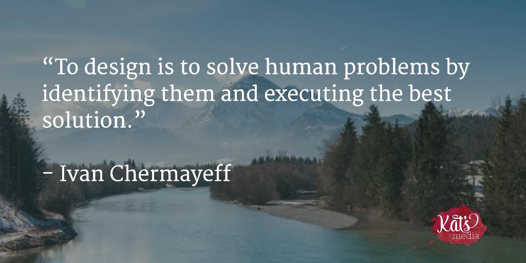 Good #design solves problems! https://t.co/PwD3xdoIDl
