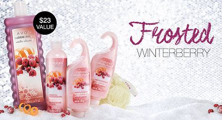 Image result for avon frosted winterberry collection