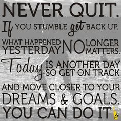 #Florida Never Quit! Keep after your goals and dreams!! <br>http://pic.twitter.com/f1iuxipeMk